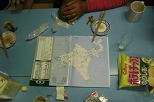 北海道・ライダーハウス・漁師の店